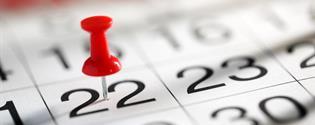 calendario para pagos automáticos