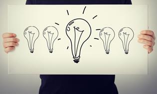 dibujo de bombillas