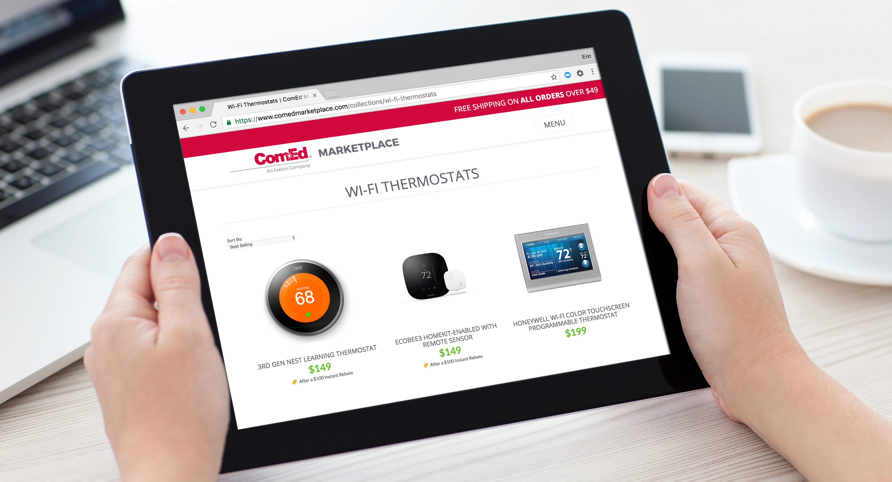 Experience the ComEd Marketplace