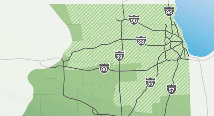 Joliet Il Zip Code Map.Regional Demographics Comed An Exelon Company